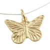 Gold-filled 14kt Charms Butterfly 15mm